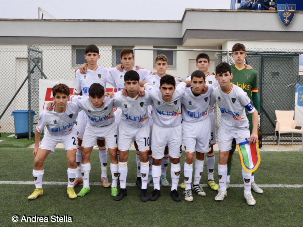 Us Lecce Calendario.Lecce Scheda Squadra Italia Giovanissimi Nazionali U15