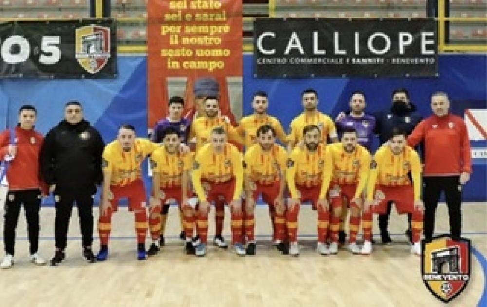 Benevento C5 Scheda Squadra Italia Calcio A 5 Serie B Girone F