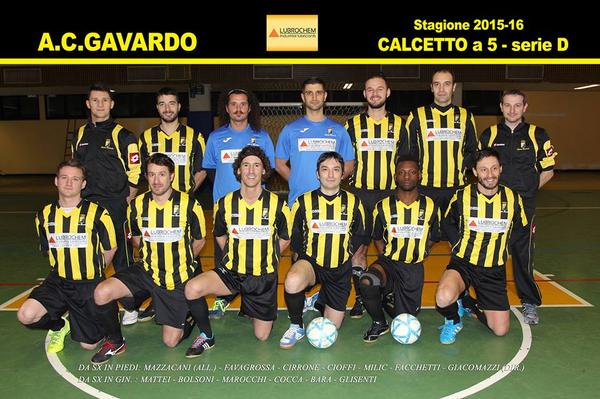 Futsal gavardo calendario squadra lombardia calcio a for Tuttocampo serie d