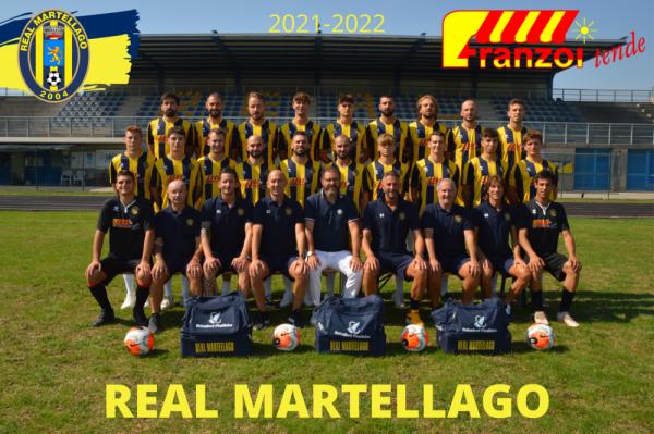 Real Martellago - Foto squadra