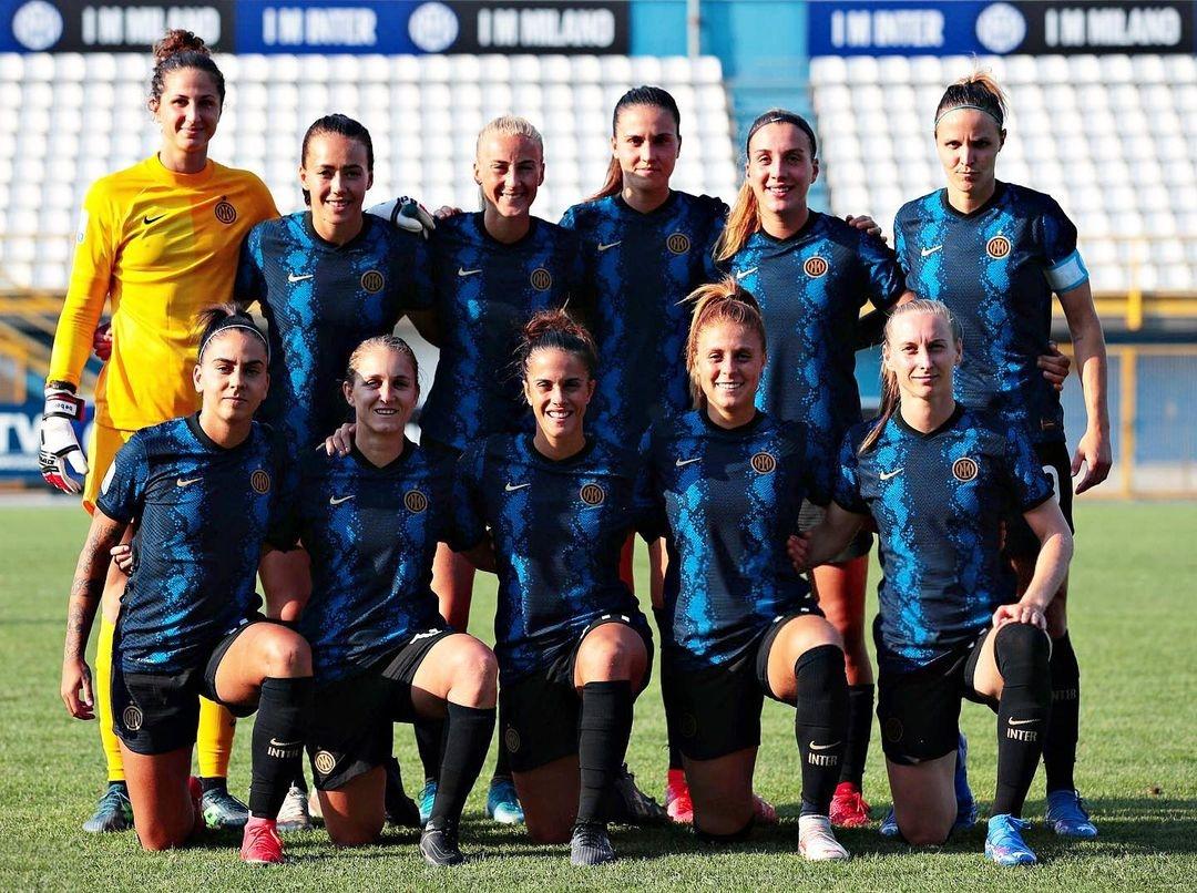 Calendario Calcio Femminile Serie B.Inter Milano Women Scheda Squadra Italia Femminile